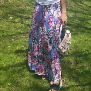 Cupio Skirts - NWT Cupio floral maxi skirt Nordstrom